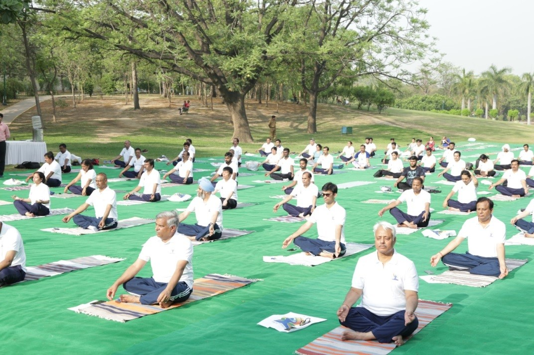International Yoga Day Celebrations.